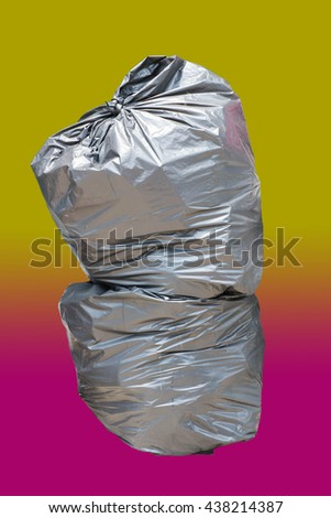 Trash bags - stock photo