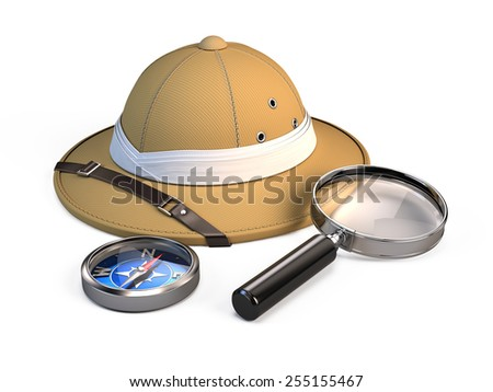Travel adventure concept - stock photo