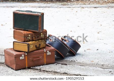 Travel Cases - stock photo