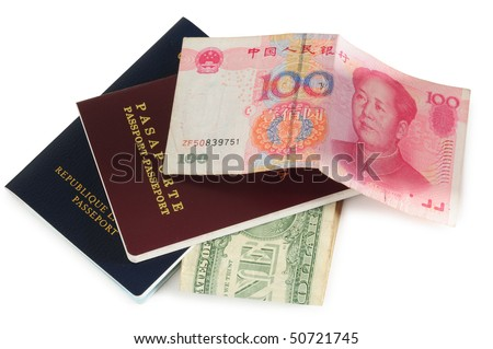 Travel concept. Isolated - stock photo