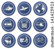 Travel Icons.Set 4 - stock photo