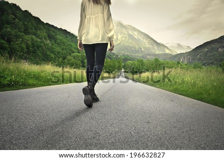 traveler - stock photo