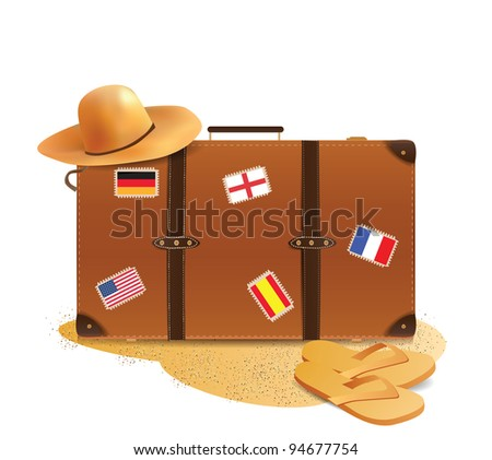 Traveling Accesories - stock photo