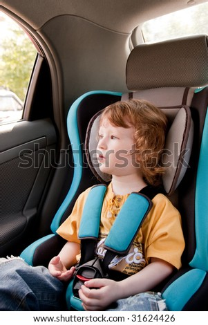 Travelling with safety - stock photo