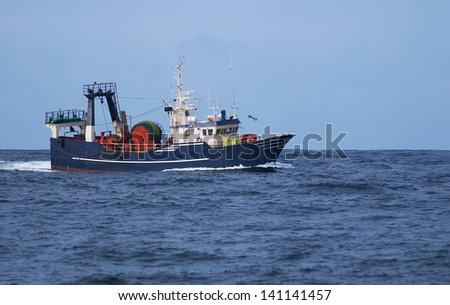 Trawl Fishing - stock photo