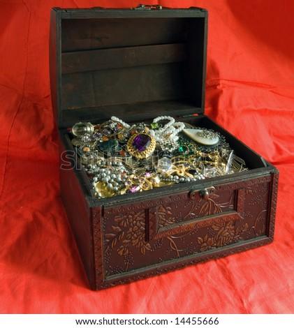 Treasure chest - stock photo