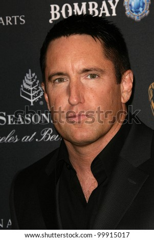 Trent Reznor  at the BAFTA Los Angeles' 17th Annual Awards Season Tea Party, Four Seasons Hotel, Beverly Hills, CA. 01-15-11 - stock photo