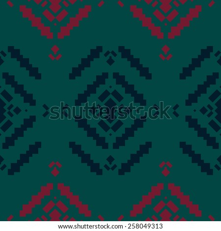 Tribal elements, ethnic collection, aztec stile, tribal pattern, tribal art, tribal design - stock photo