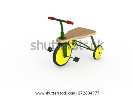 Tricycle - stock photo