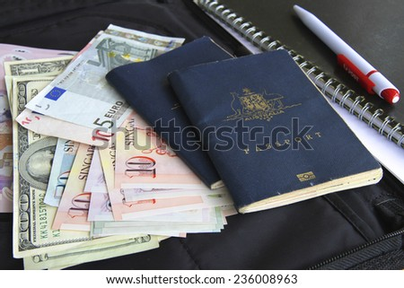Trip Planner - stock photo