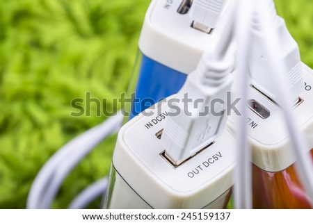 Triple energy - stock photo