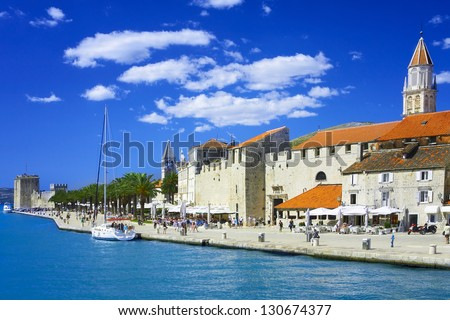 Trogir in Croatia - stock photo