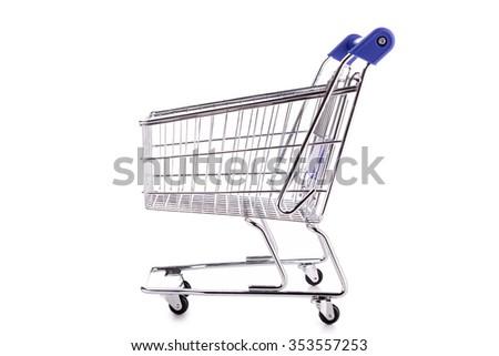 trolley cart - stock photo