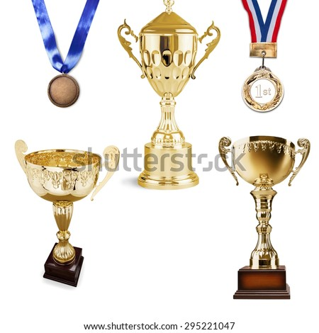 Trophy, Cup, Sport. - stock photo