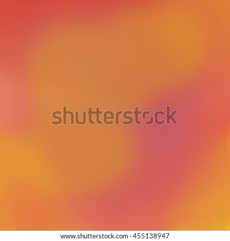 Tropical abstract in flowing warm colors. - stock photo