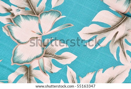 Tropical background pattern / design - stock photo