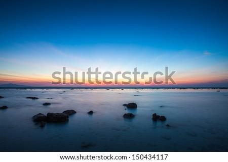 Tropical beach, Bamboo Island, Andaman Sea, Thailand - stock photo