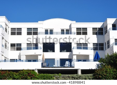 Tropical Condominiums - stock photo