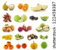 Tropical fruits. - stock photo