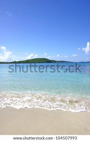 Tropical Island Beach Paradise - stock photo