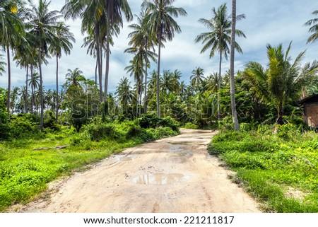 Tropical island of Racha in Thailand - stock photo