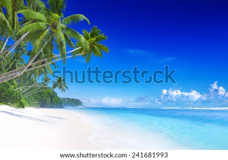 Tropical Paradise. - stock photo