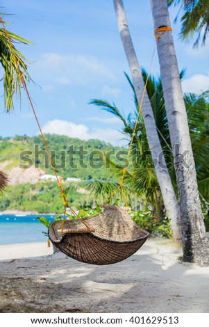 Tropical paradise. Philippines - stock photo
