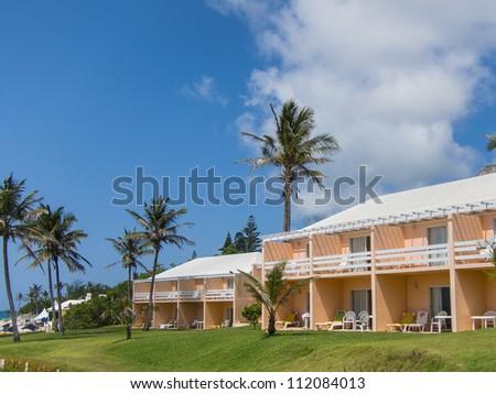Tropical Resort Hotel - stock photo