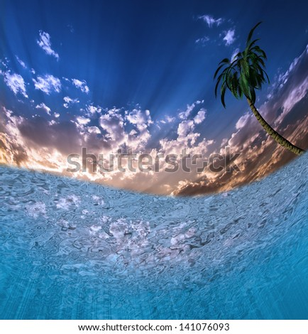 Tropical Waters - stock photo