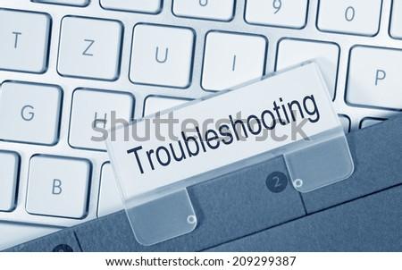 Troubleshooting - stock photo