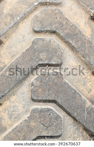 trucks tire closeup, maintenance, service and motor transport concept - close up of truck wheel tyre - stock photo