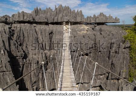 Tsingy de Bemaraha National Park, Madagascar - stock photo