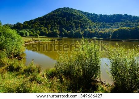 Tsover lake, Armenia - stock photo
