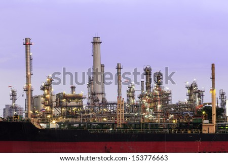 tube factory and automotive - stock photo