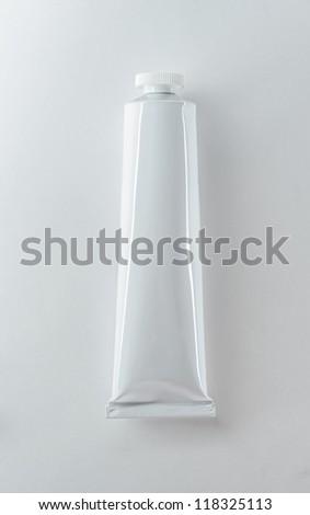 Tube (oil, acrilyc paints) - stock photo