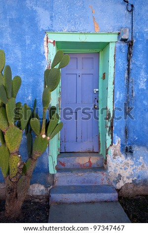 Tucson House Door - stock photo