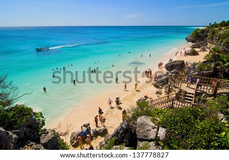Tulum 02 - stock photo
