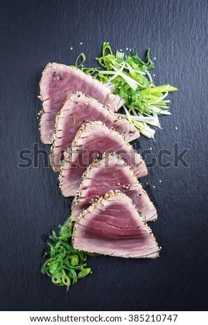 Tuna Tatika - stock photo