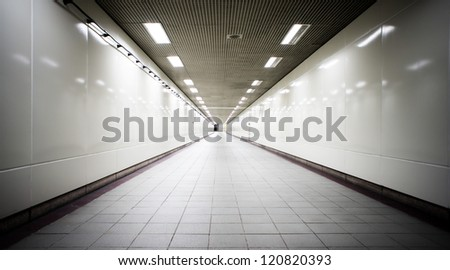 tunnel - stock photo
