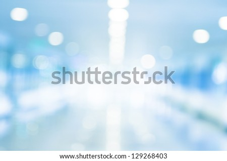 Tunnel light defocused. Abstract view in tunnel, purposely defocused. - stock photo