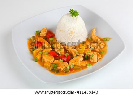 turkey goulash - stock photo