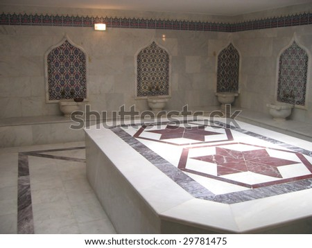 Turkish bath - stock photo