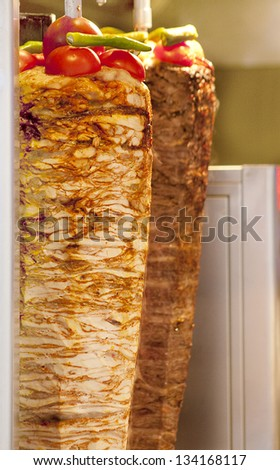 Turkish doner - stock photo