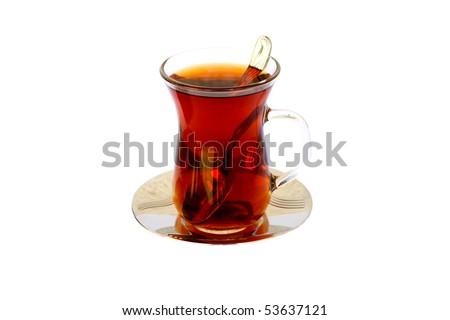 Turkish Tea - stock photo