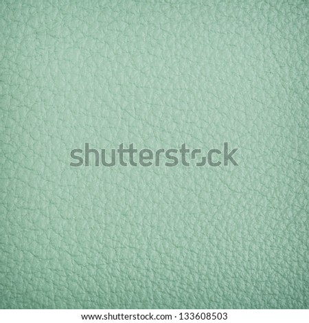 turkois leather background - stock photo