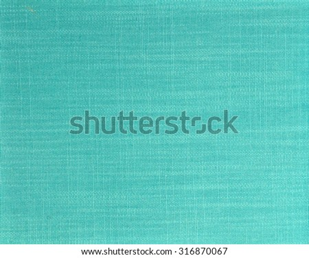 turquoise fabric texture - stock photo