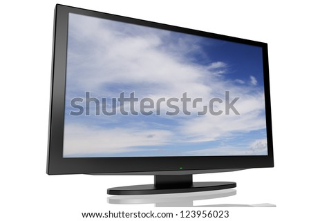 TV LCD - stock photo