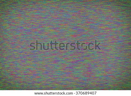 Tv noise colorful background  - stock photo