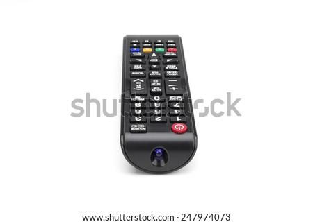 Tv smart  remote control - stock photo