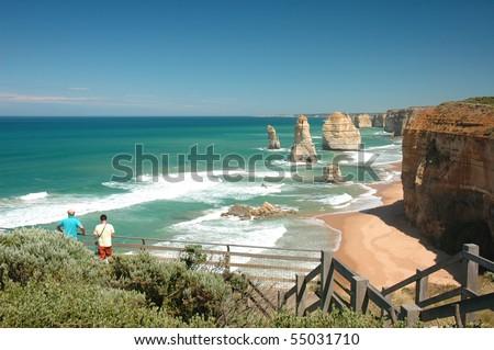 Twelve Apostles, Australia - stock photo